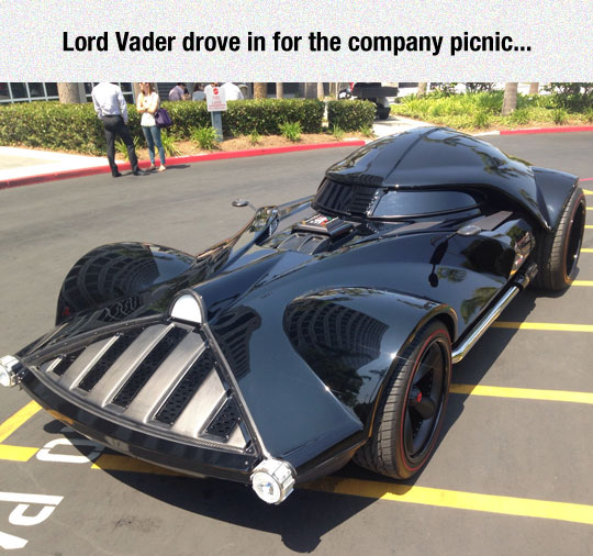 Lord Vader Pays A Visit