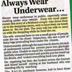Underwear Always
