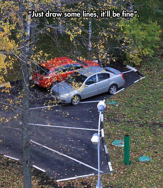 Poor Parking Planning