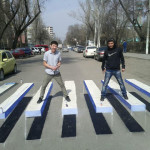 Cool Crosswalk Design In Kyrgyzstan