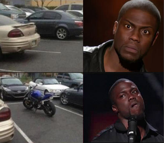 Every Time I Look For A Parking Spot