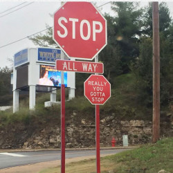 Sassy Stop Sign